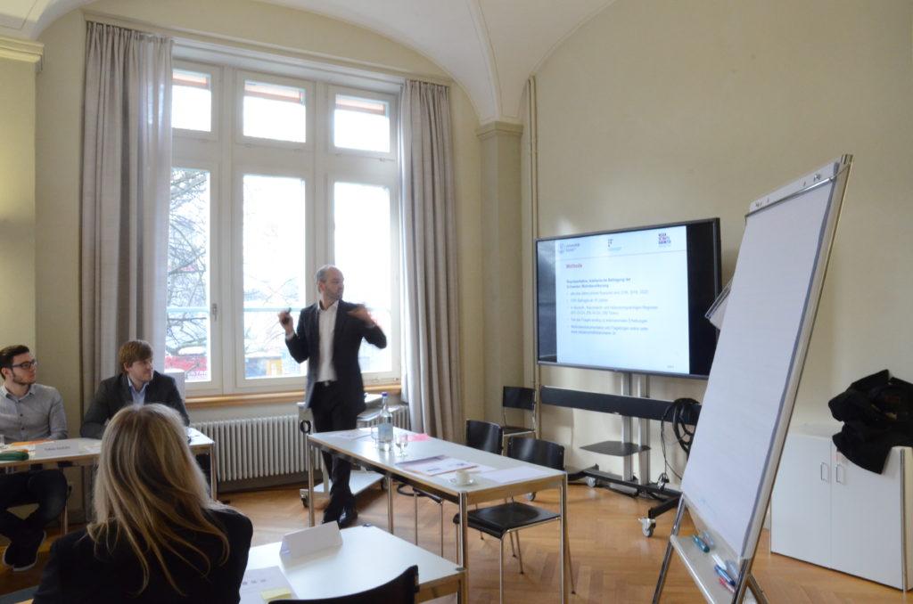 Stakeholder-Workshop 2017 Wissenschaftsbarometer Schweiz